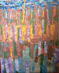 Belledune Collage - acrylique, 2015 16 x 20 po. 250 $